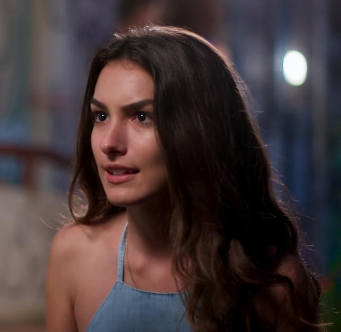 A ficha de Luciana finalmente começa a cair (Foto: TV Globo)