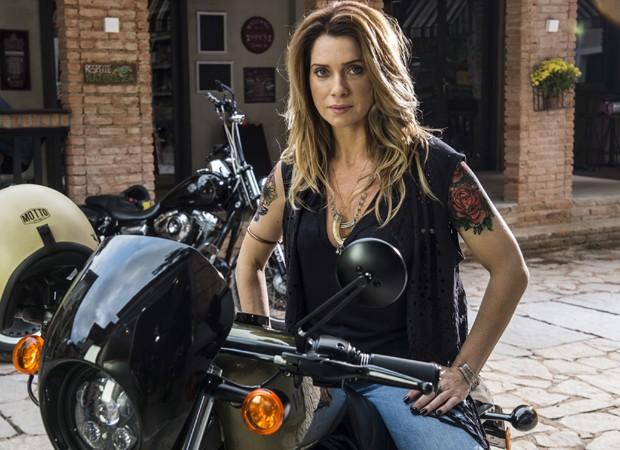 Letícia Spiller interpreta a personagem Lenita na novela 'Sol Nascente' (Foto: Divulgação/TV Globo)