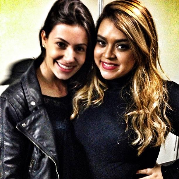 Bárbara Tenório e Preta GIl (Foto: Instagram/ Reprodução)