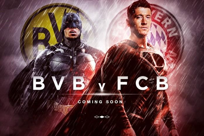 BLOG: Batman x Superman: Bayern usa super-heróis para promover jogão com Borussia