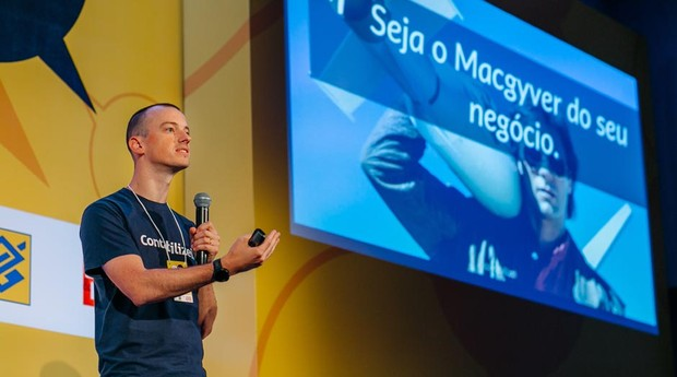 Vitor Torres, CEO e cofundador da Contabilizei (Foto: Renan Radici)