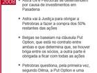 Relatório da Petrobras propõe punição a envolvidos em Pasadena