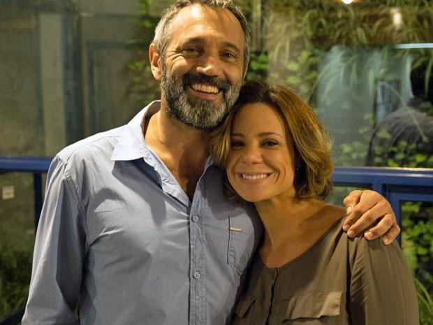 Domingos Montagner deixa recado especial para a companheira de elenco (Foto: Paulo Gonçalves/Gshow)