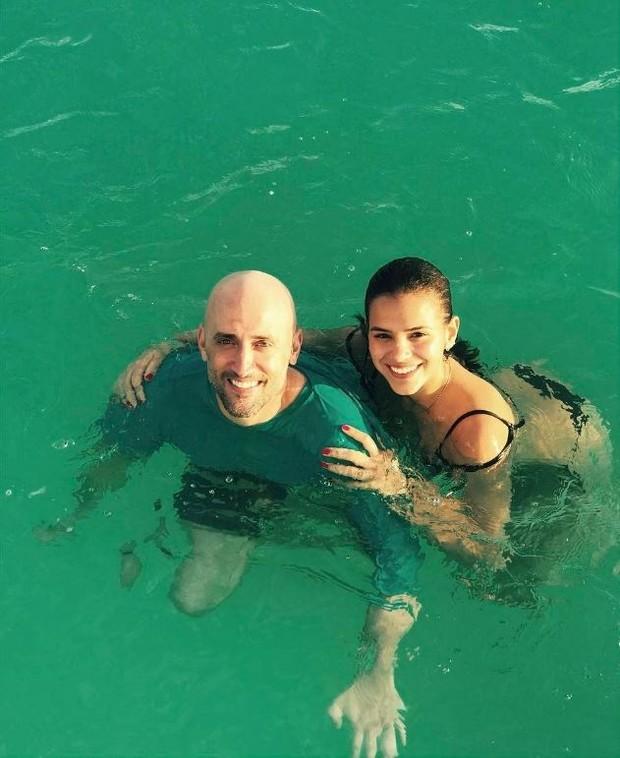 Bruna Marquezine e Paulo Gustavo (Foto: Reprodução Instagram)