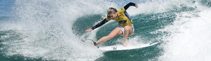 Stephanie Gilmore mundial de surfe Rio Pro (Foto: Damien Poullenot/WSL)