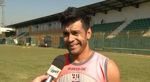 Marcinho Batista, atacante do Sertãozinho (Foto: Valdinei Malaguti/EPTV)