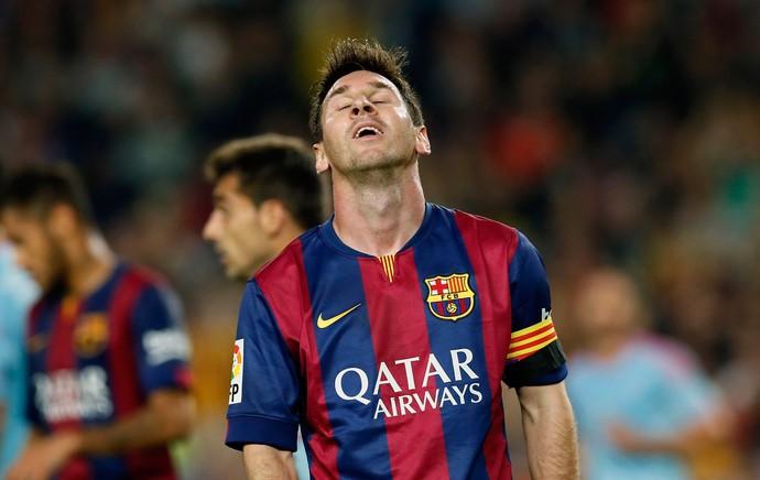 messi Barcelona x Celta de Vigo (Foto: Reuters)