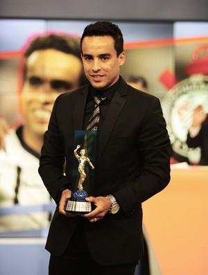 Jadson Corinthians Bem, Amigos! prêmio Brasileirão (Foto: Marcos Ribolli)