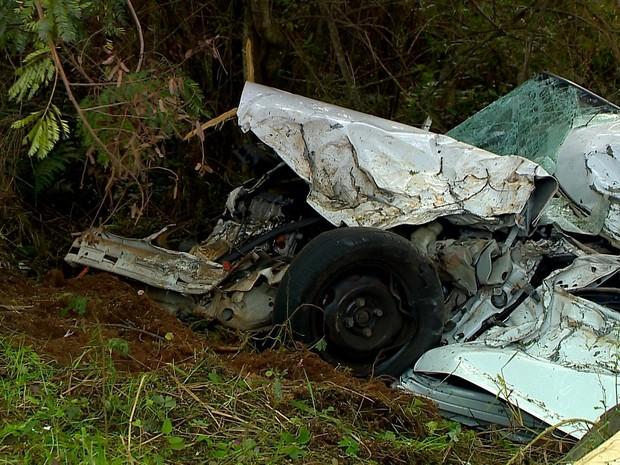Empresário morreu em acidente em Passo Fundo (Foto: Reprodução/RBS TV)