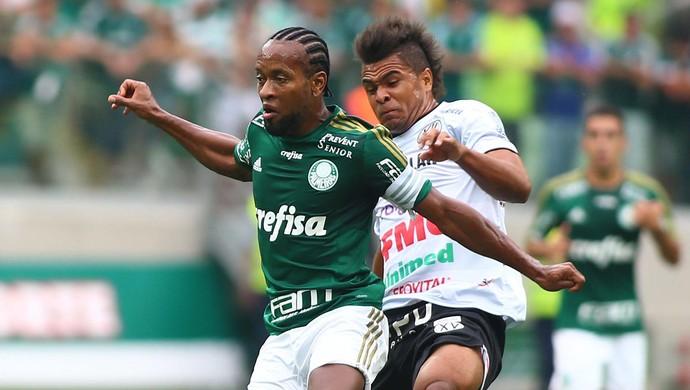 Zé Roberto, Palmeiras x XV de Piracicaba (Foto: Marcos Bezerra / Ag. Estado)