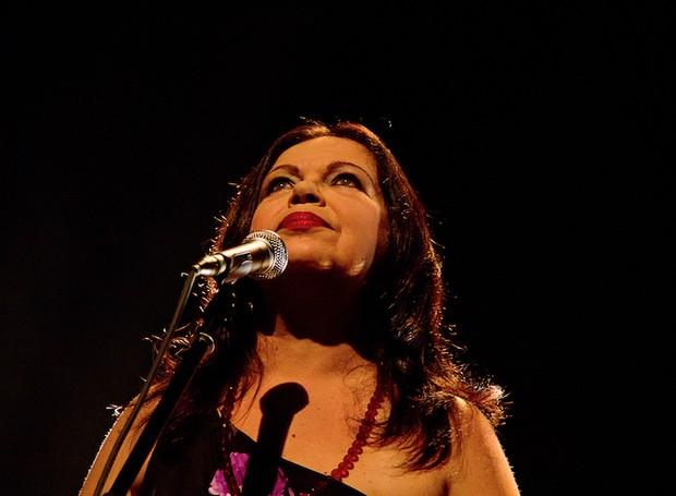 Amelinha comemora 40 anos de carreira em show em Curitiba (Foto: Divulgação)