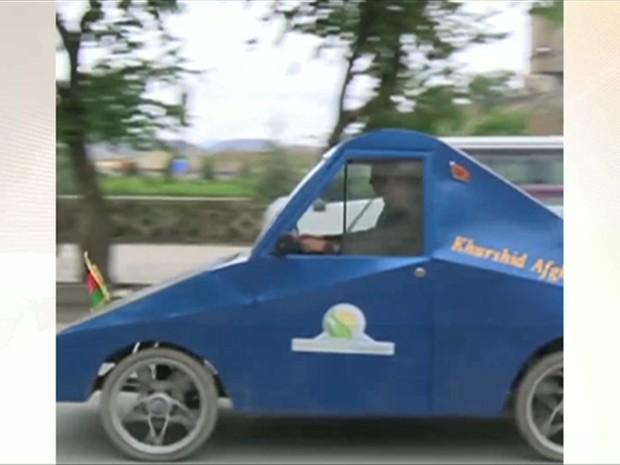 Veículo custou US$ 5 mil (cerca de R$ 15,7 mil) (Foto: BBC)