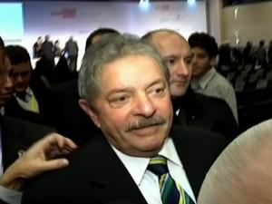 Lula (Foto: Reprodução Globo News)
