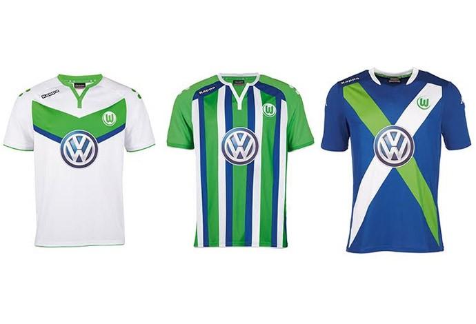 Camisas alemão - Wolfsburg