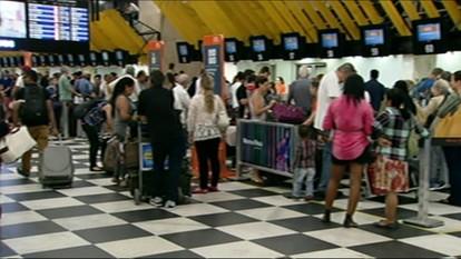 Aeroporto Santos Dumont, no Rio, fica fechado por quase 1h30