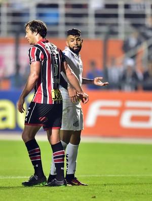 Lugano e Gabriel Santos X São Paulo