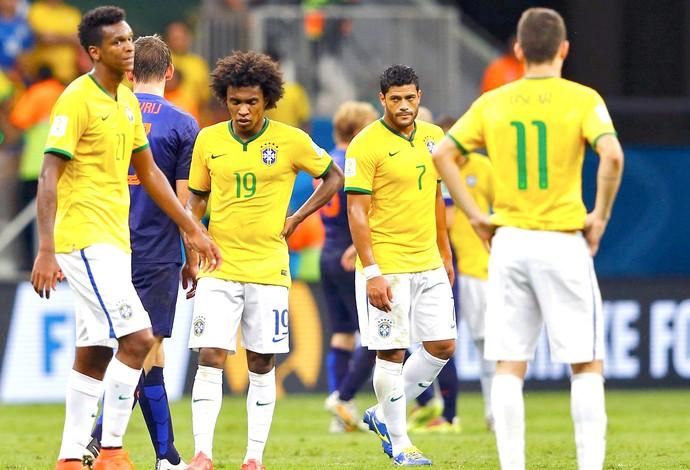 Brasil derrota jogo Holanda (Foto: Reuters)