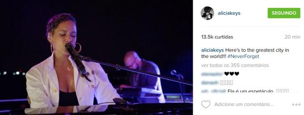Alicia Keys (Foto: Reprodução/Instagram)