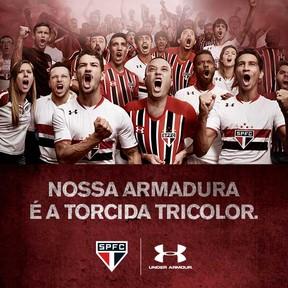 754364be5b3 Lojas do São Paulo vendem 3 mil camisas da Under Armour após ...