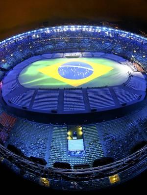 Festa de encerramento Olimpíada Rio de Janeiro Maracanã (Foto: REUTERS / Pawel Kopczynski)