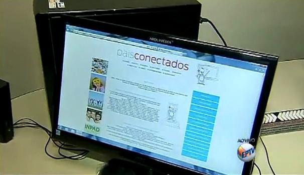Curso online 'Pais Conectados' ajuda no combate às drogas (Foto: Reprodução/EPTV)