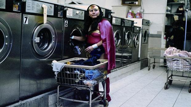 María Luisa Romero, funcionária de uma lavandería do Brooklyn (Foto: Dulce Pinzón)