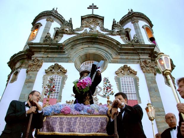 Procissão do Encontro São João del Rei (Foto: Thiago Morandi/Divulgação)