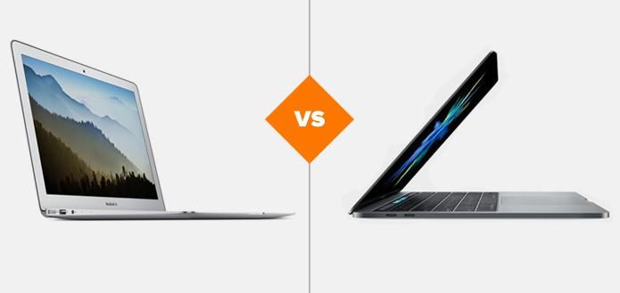 MacBook Air 13″ x novo MacBook Pro 13″: qual a melhor compra? (Foto: Arte/TechTudo)