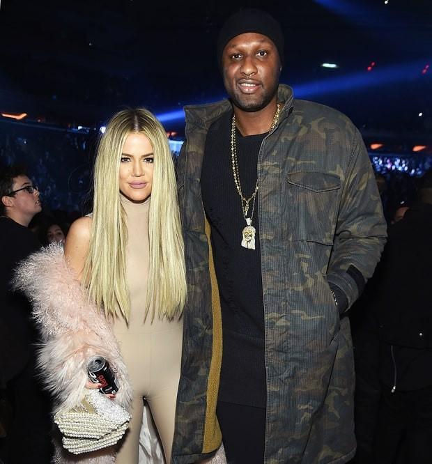 Lamar Odom e Khloé Kardashian (Foto: reprodução)