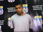 Suspeito de enforcar e esfaquear mulher é preso em Manaus