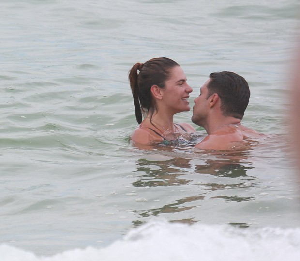 Cauã Reymond e Mariana Goldfarb (Foto: Delson Silva/ Agnews)