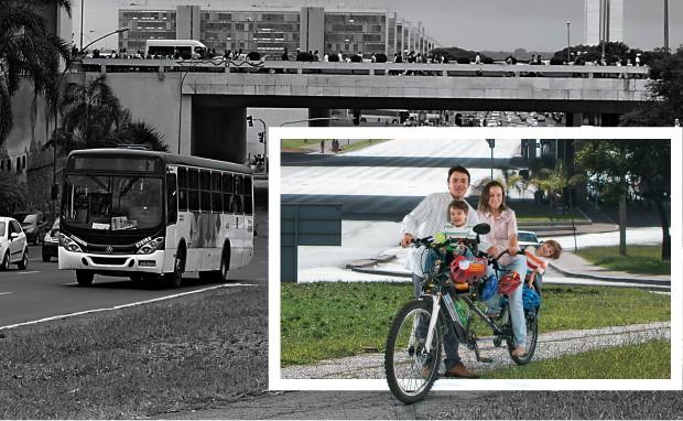 De bicicleta (Foto: Igo Estrela/ÉPOCA)