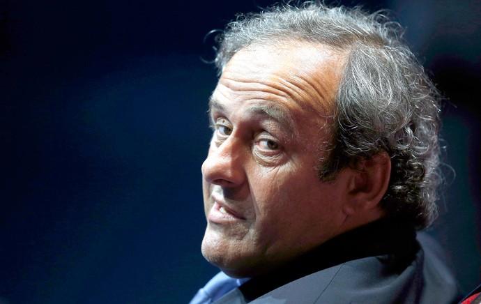 Michel Platini, Presidente UEFA (Foto: Agência Reuters)