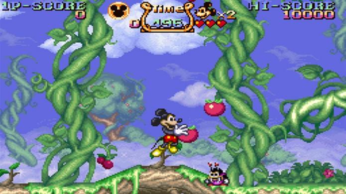 The Magical Quest trouxe a divertida jogabilidade de troca de roupas de Mickey (Foto: Game Fabrique)