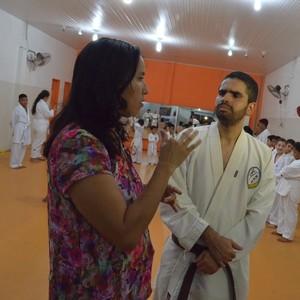 Maria Amélia e André Felipe (Foto: Nailson Wapichana)