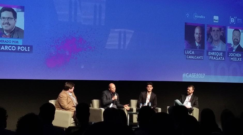 CASE (Conferência Anual de Startups e Empreendedorismo) (Foto: Vitória Batistoti)