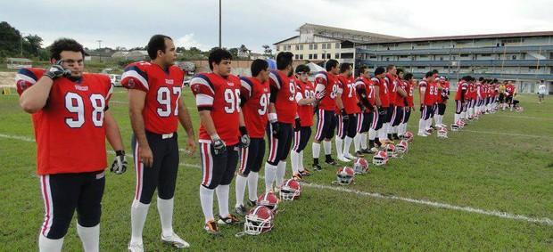 O Titans, atualmente, é o único time de futebol americano do Pará. Time pretende disputar Campeonato Brasileiro em 2013 (Foto: Divulgação)