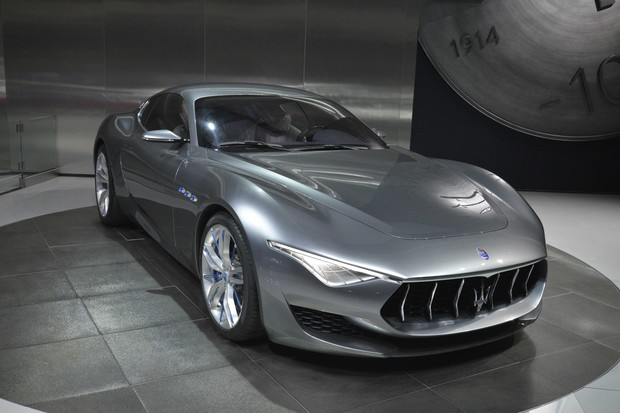Maserati Alfieri no Salão de Detroit 2015 (Foto: Newspress)