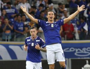 Leandro Damião Cruzeiro x Mineros Libertadores (Foto: EFE)