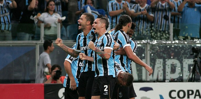 Ramiro gol Grêmio (Foto: Wesley Santos / Agência PressDigital)
