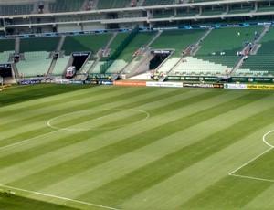 Arena Palmeiras x Santos (Foto: Lucas Musetti)
