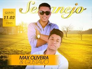 Dupla Max Oliveira e Gustavo (Foto: Divulgação)