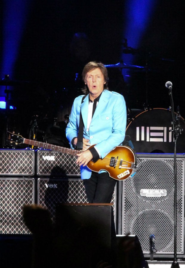 Paul McCartney (Foto: Amandio Santos e Alexandre Magioni/Photo Rio News)