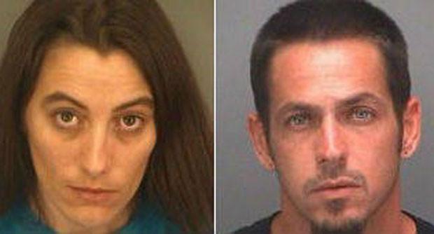 Kaitlyn Pergola, de 29 anos, foi presa acusada de enviar a droga ao namorado (Foto: Divulgação/Pinellas County Sheriff's Office)