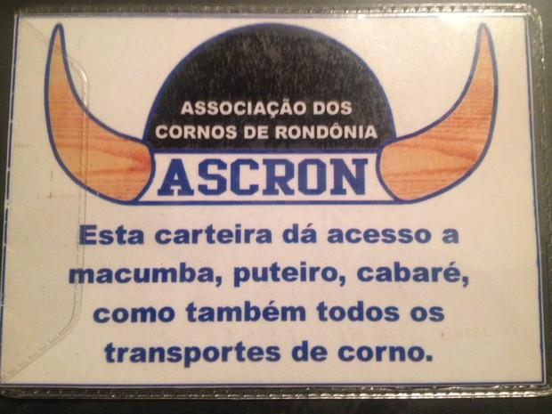 Associação dos Cornos de Rondônia