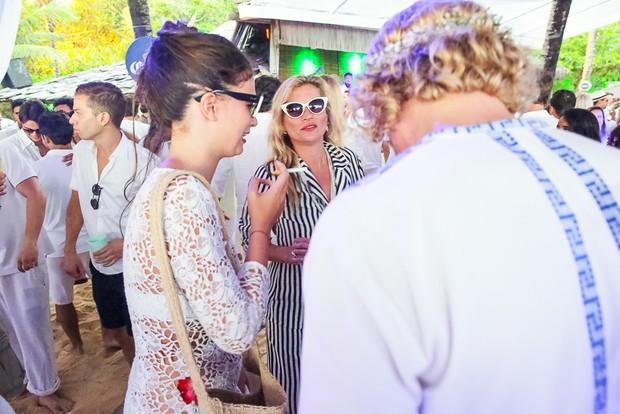Kate Moss na festa do Taípe, em Trancoso (Foto: Divulgação)