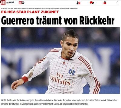 Atacante mostra conhecimento sobre situação atual de seu ex-clube e diz que  a Bundesliga