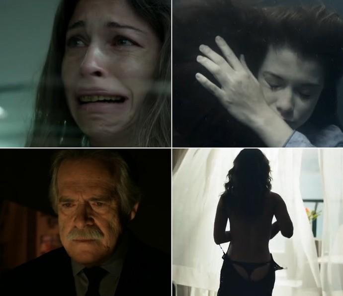 'Verdades Secretas', 'Além do Tempo', 'A Regra do Jogo', a série 'Felizes para Sempre' e outras novelas tiveram cenas que foram um sucesso só (Foto: TV Globo)