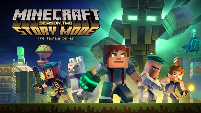 Minecraft Story Mode - Season 2 - Eps. 1 (Foto: Divulgação/Telltale Games)