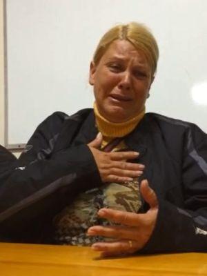 Mãe de Bryan falou sobre a morte dele em reunião em SP (Foto: Imagens cedidas/ Condepe)